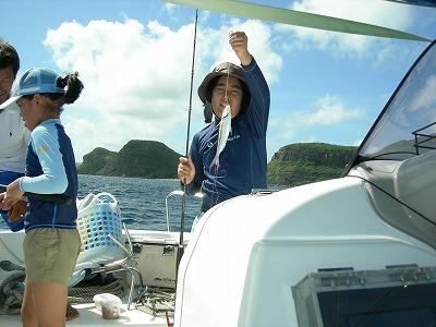 ゆめと君西表島で2年ぶりの釣り
