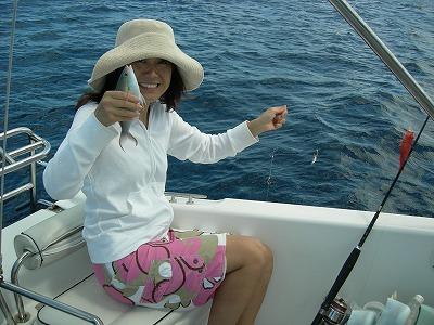 西表島で優雅に釣り