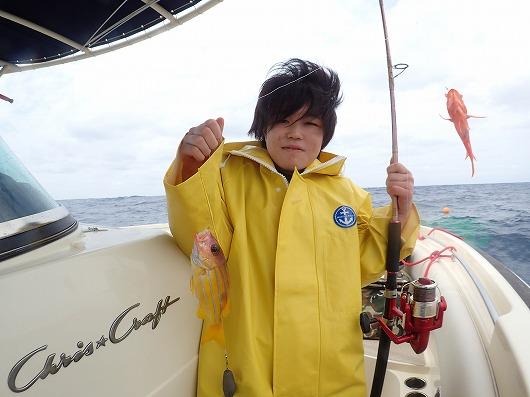 あおいちゃんあらたくんファミリーさんの西表島釣りまくりアカジン大物ゲットツアー