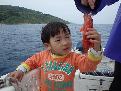 ウエファミリーin西表島釣り&シュノーケリング