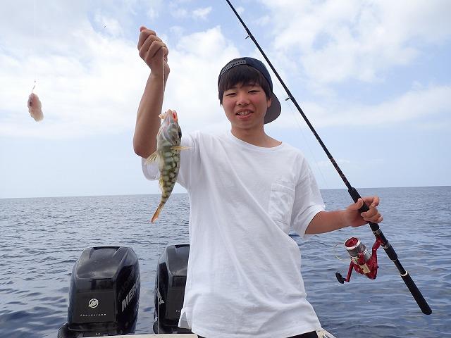 奥西表貸切ボートチャーター釣りコース