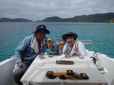 仲良しカップルさんの西表島釣り&リフレッシュダイビング!