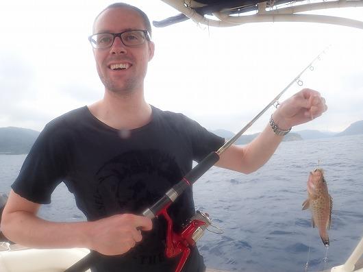 半日奥西表ボートチャーター貸切フィッシングコースにご参加のカップルさん