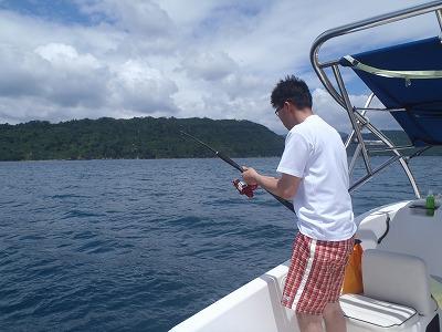 西表島で貸切のリゾートフィッシング