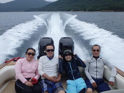 さっちゃん達との貸切ボートチャーターツアー