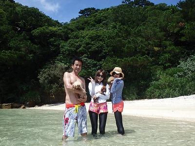 ココちゃん達の石垣島から日帰りボートチャーターツアー西表島