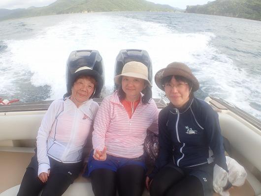 仲良し女子会!親子水入らずで奥西表ボートチャーター体験ダイビング!