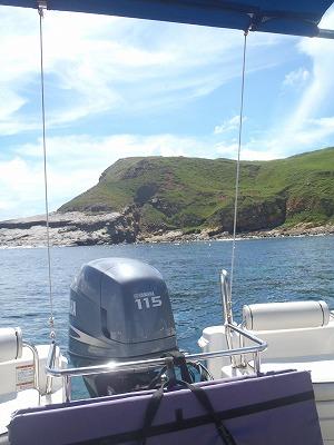 神々しい島オガン島