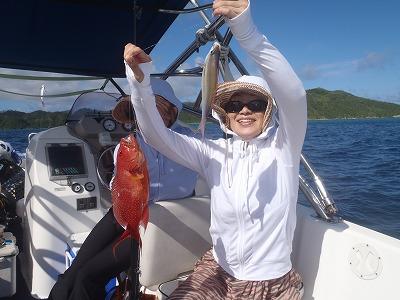 西表島ならダブル釣りも夢じゃない!