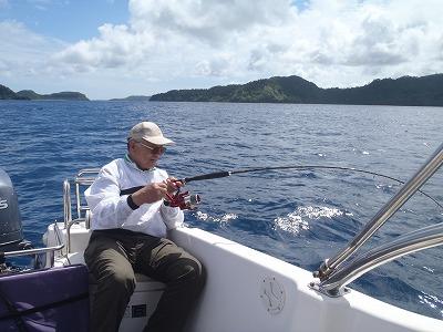 西表島で大物釣り!