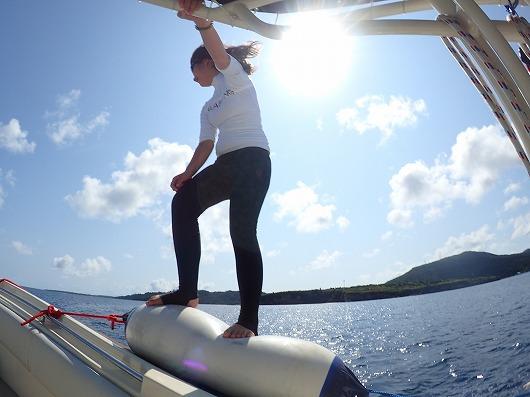 ますますモデルさんへ!! ~オーストリアからのリピーターさん西表へ貸切ボートチャーター全部コース3日間~