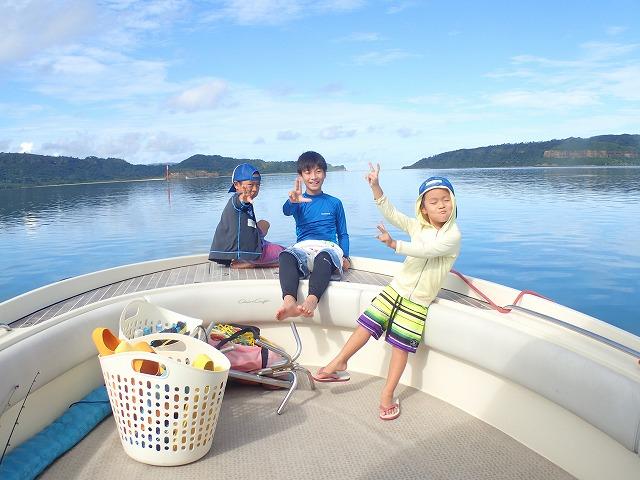 奥西表貸切ボートチャーターシュノーケリング釣りコース