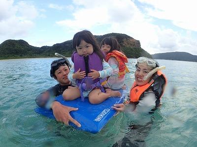 船長さんは、ななちゃんとはるちゃん!西表島で貸切ボートチャーターシュノーケル&釣りツアー