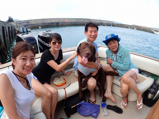 大切なペットさんと奥西表ボートチャーター貸切ツアー