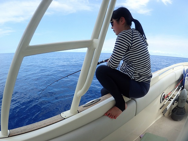 奥西表貸切ボートチャーターシュノーケル&釣り&体験ダイビングツアー