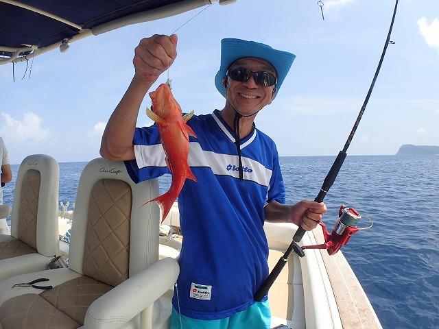 奥西表貸切ボートチャーターリピーター釣りコース