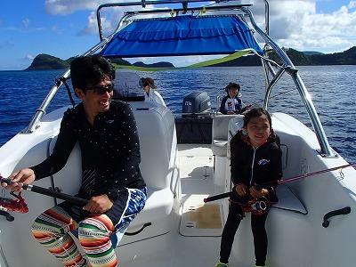 釣りに目覚めたカイト君と天真爛漫ジュリちゃんと西表島貸切ツアー2日間