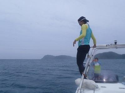 西表島で悪天候でもシュノーケリングのカメチチファミリー