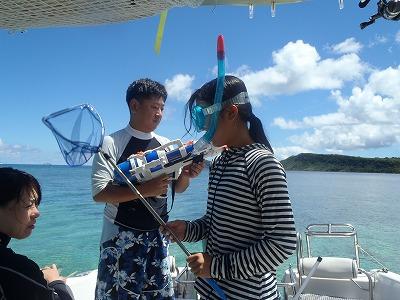 はるかちゃんと4日間貸切ボートチャーター西表島網取シュノーケリングツアー