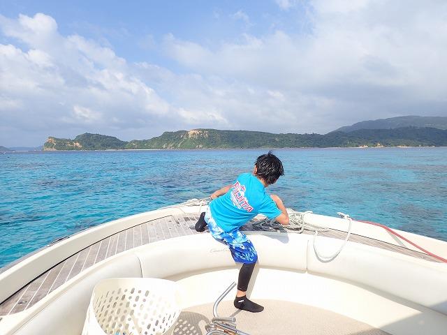 奥西表貸切ボートチャーターシュノーケリング