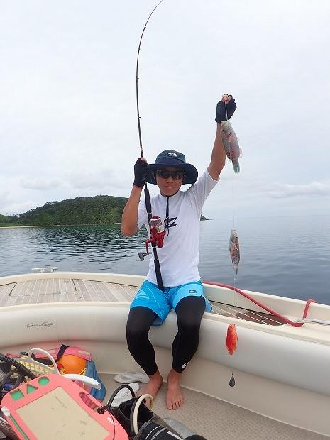 3世代で海遊び・奥西表貸切ボートチャーター釣り