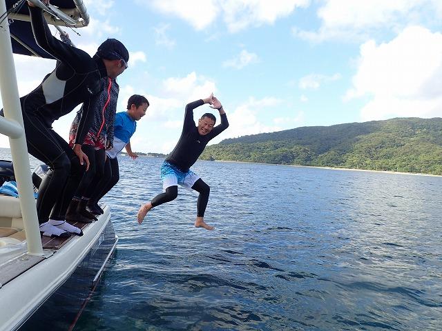 3世代さん西表島旅行ボートチャーターコース