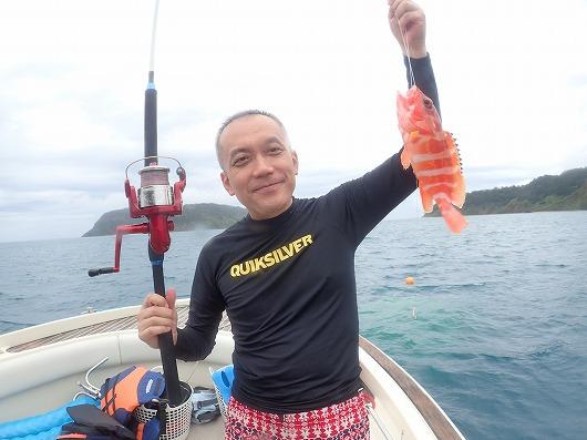 ~3日間奥西表ボートチャーターシュノーケル&釣りコース~
