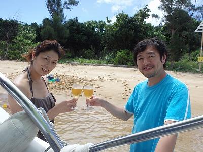 小浜島より西表島へ日帰り貸切シュノーケリングボートチャーターツアー