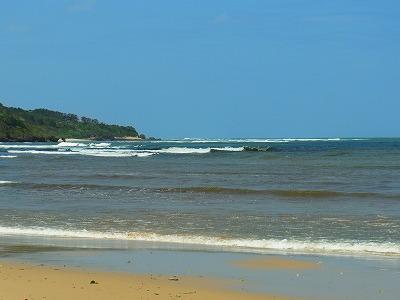 西表島でのサーフィン