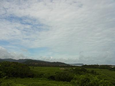 穏やかな朝の西表島